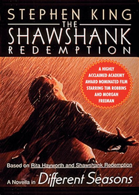 redemption books the shawshank redemption audio book cds unabridged