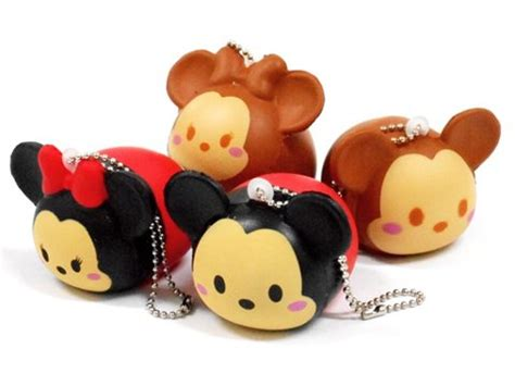 Baby Miki Squishy By Kurin scented tsum tsum mickey minnie mouse squishy kawaii squishy apparel toys diy