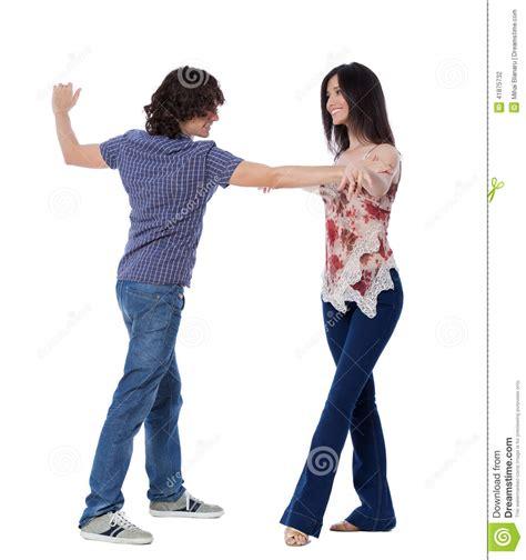 demonstration of west coast swing dance steps west coast swing dance stock photo image 41875732