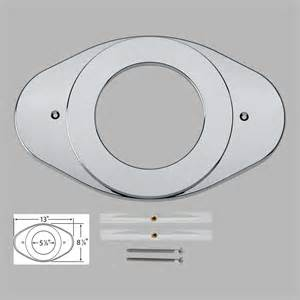 delta rp29827 shower renovation cover plate chrome ebay