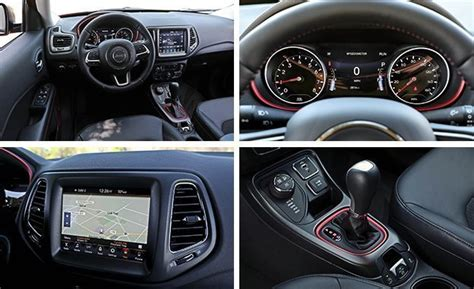 jeep compass all black 2017 2017 jeep compass trailhawk tested review car and driver