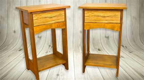 bedside tables nightstand arts crafts style