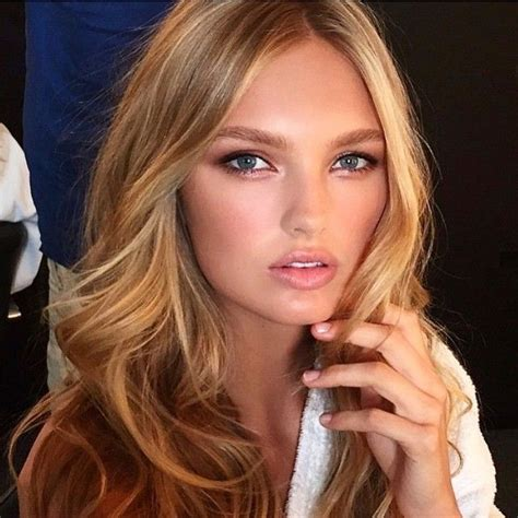 victoria secret haircut romee strijd the makeup looks pinterest makeup and