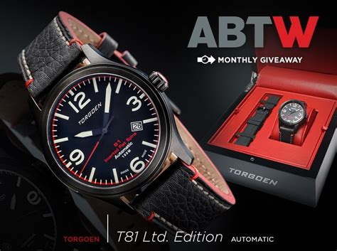 Watch Giveaway - watch giveaway torgoen t81 limited edition automatic ablogtowatch