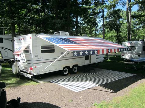rv trailer awnings used cer awning sresellpro com