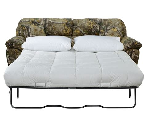 realtree sofa cumberland queen sleeper sofa in mossy oak or realtree