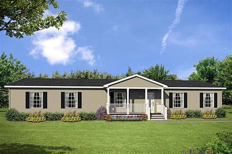 a glimpse on the single story modular home floor plan