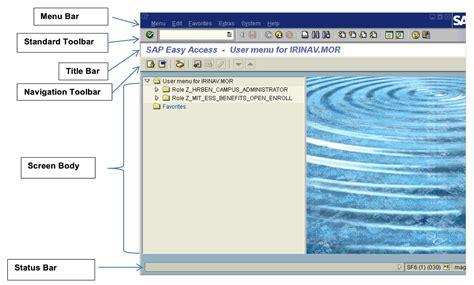 sap navigation tutorial sap hr basics and navigation free sap hr training