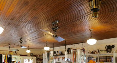 vintage ceiling fan for lakeside historic building