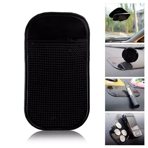 Mobile Phone Pad Holder car dashboard nano silicone anti slip pad sticky grip mat