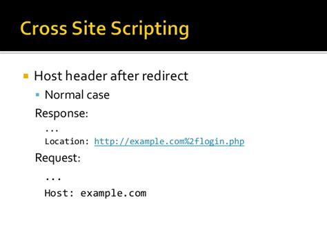 xss tutorial pl http host header attacks