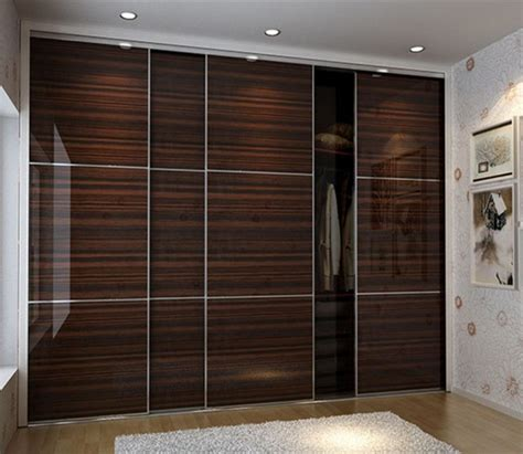 Laminate Wardrobe Door Designs by Laminate Wardrobe Designs In Black Bedroom Furniture