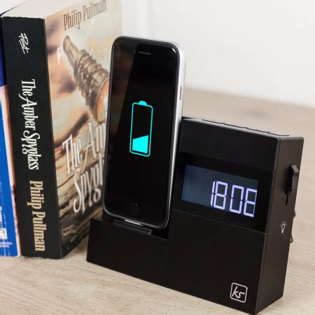kitsound  dock  iphone      clock radio