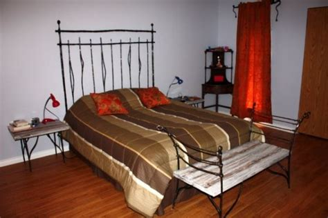 wrought iron bedroom sets bedroom set wrought iron wood bb07 bc blacksmith