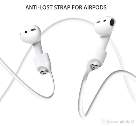Anti Lost For Apple Airpods for apple airpods headphones anti lost loop string rope for air pods bluetooth earphone