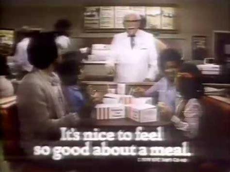 actors in kentucky fried chicken commercials old kfc commercial kentucky nuggets 80 s commercials