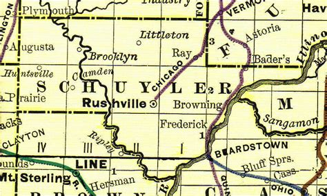County Il Property Records Schuyler County Illinois Genealogy Vital Records Certificates For Land Birth