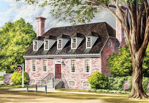 traditional colonial house plans traditional colonial home plan 32524wp 1st floor