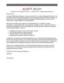 Web Marketing Manager Cover Letter by Web Manager Cover Letter