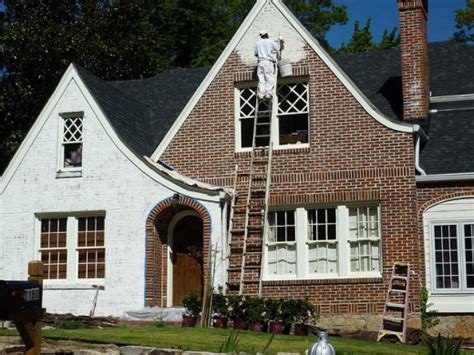 how to paint a house exterior how to paint the exterior of a brick house