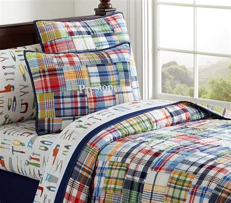 Boys Plaid Comforter Set by Pb 15 Big Boy Bedding Sets That Both You And Your Toddler Will Boys Rooms