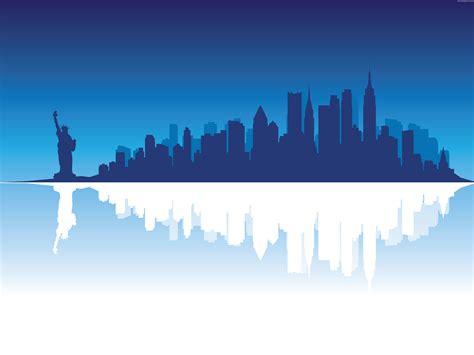 york silhouette vector psdgraphics