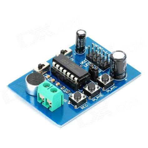 Isd 1820 Voice Module Isd 1820 Modul Perekam Suara isd1820 sound voice recording and playback module board