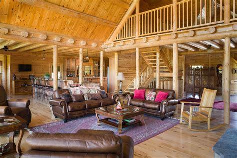 custom northern maine log home estate rustic living