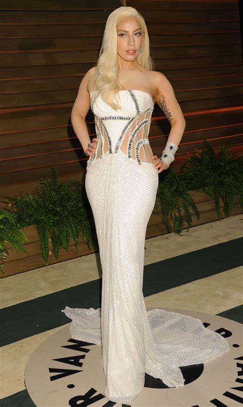 Vanity Gaga by Gaga At Vanity Fair Oscar In