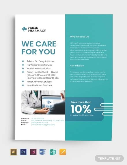 advertising flyer examples  word psd ai