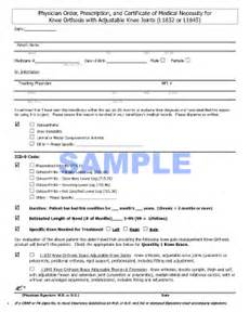 doctor certificate in patient with braces example fill