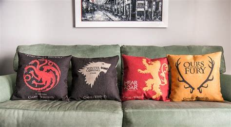 Of Thrones Pillow by Of Thrones Pillow Seekfancy