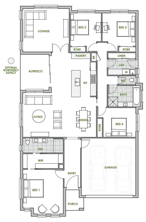 house plan 20 best green homes australia energy efficient