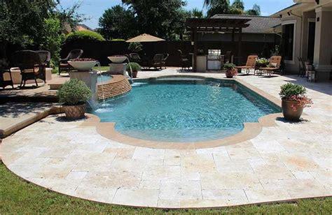 roman pool roman backyard and swimming pools roman shaped pool in yard with tan google search