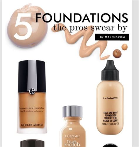 My Top 5 Foundations by Top 5 Foundations Makeup Artists Swear By Musely