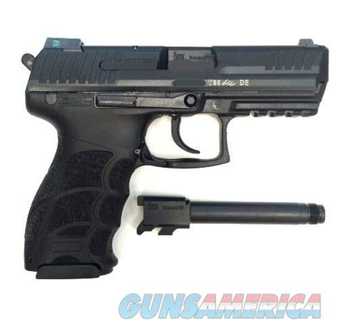 stiker kompr hk blue hanya55ribu heckler koch p30 v3 9mm w threaded barrel 3 mags f