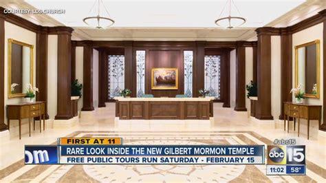 inside the mormon church