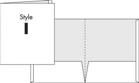 Custom Presentation Packaging Folders Digital Printer Pocket Folder Template Illustrator