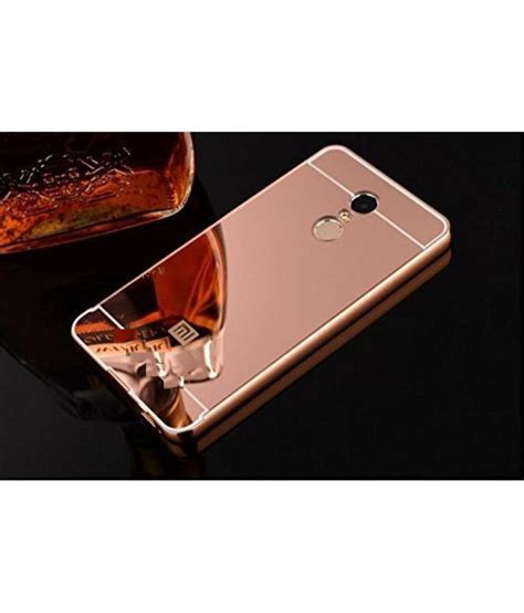 Miror For Xiaomi Redmi Note xiaomi redmi note 4 mirror back covers feomy gold plain back covers at low
