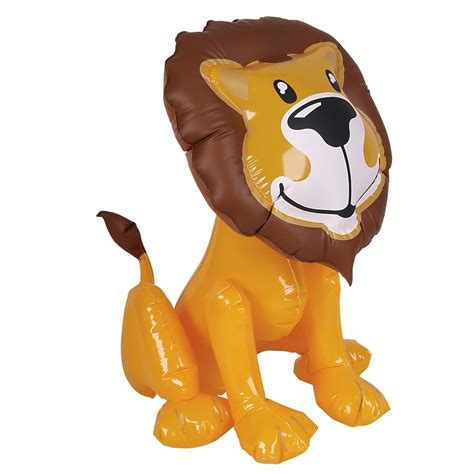 Sea Themed Bedroom inflatable lion toy blow up animals for kids parties