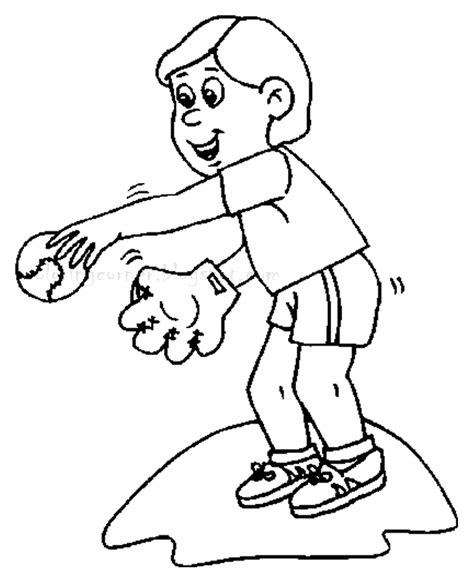 Baseball Coloring Pages Baseball Player Coloring Pages