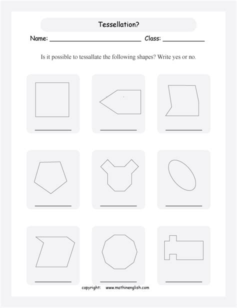 tessellation pattern worksheet counting number worksheets 187 tessellation pattern blocks