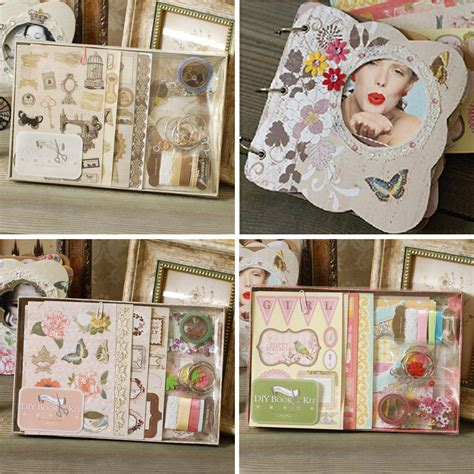Sale Notebook Make Up Kit 4 By Make Up Pallette get cheap scrapbook binders aliexpress