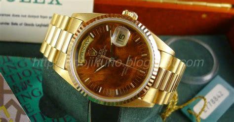 Jam Tangan Rolex Day Date Combi Gold jual beli jam tangan mewah original baru dan bekas arloji antik mewah jam tangan second