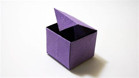 How To Make A Paper Box That Opens - how to make a paper box that opens and closes