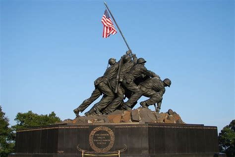 U S Marine Corps iwo jima memorial u s marine corps war memorial