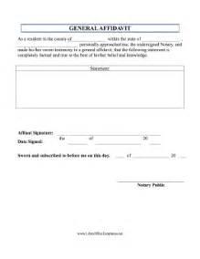 basic affidavit