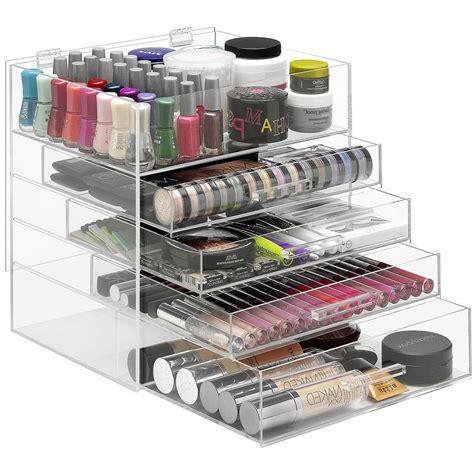 Acrylic Organizer With Drawers by Acrylic Organizer With Drawers In Cosmetic Organizers