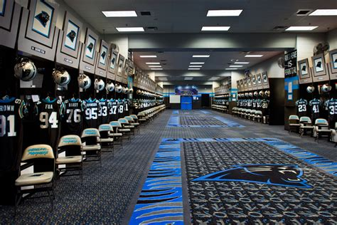 panthers locker room architectural photography architecture exterior and interior