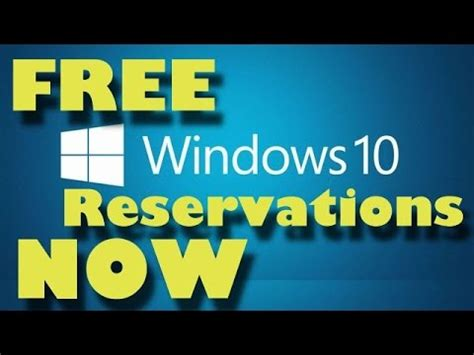 reserve windows 10 upgrade today windows 10 how to reserve your free upgrade now of win10